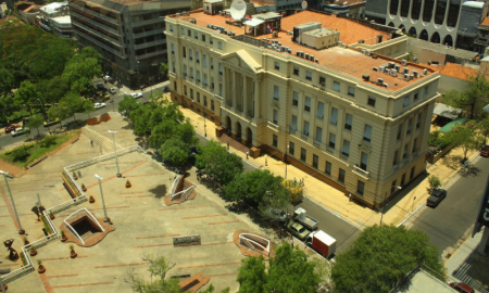 arquitectura italiana - Banco Nacional De Fomento Vista Aerea