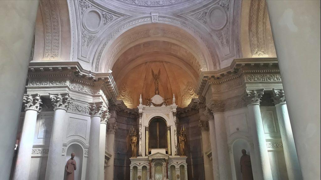 Alejandro Ravizza - interior del panteón nacional de los Héroes
