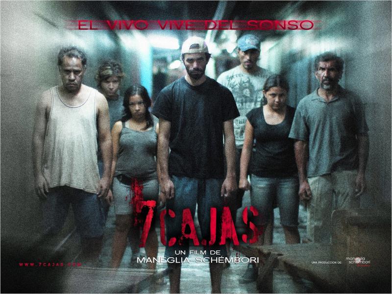 peliculas paraguayas - 7 Cajas afiche