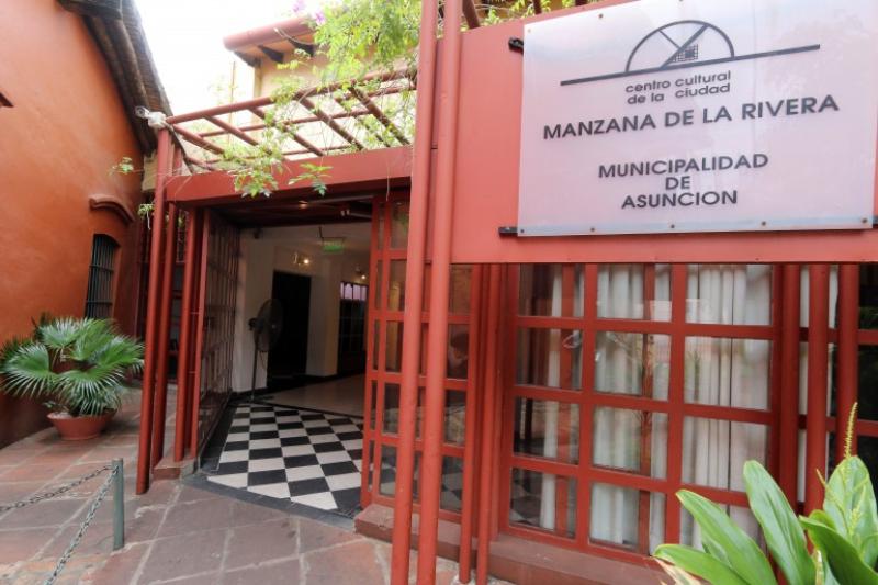 cine paraguayo - Manzana De La Rivera Carlos Colombino
