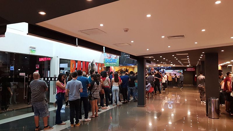 cine paraguayo - Cinemas Plaza Ciudad de Este