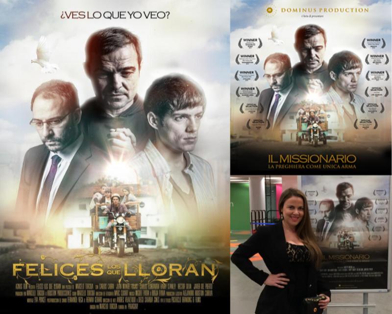 cine paraguayo - Felices Los Que Lloran Il Missionario Segunda