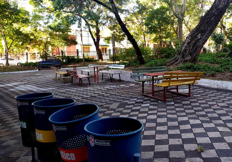 Plaza Italia - Area Ajedrez
