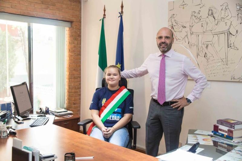 comunidad italiana - Con Embajadora Por Un Día