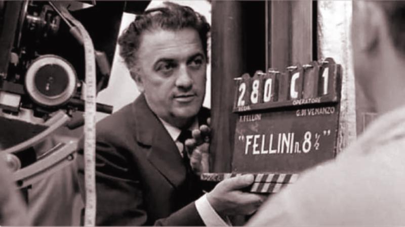 federico fellini - Filmando Ocho Y Medio