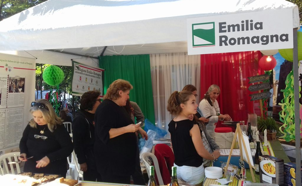 Raíces italianas - Fiesta Italiana En Paraguay