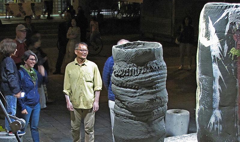 Faenza - Nuovo en el Evento Argilla junto al ceramista coreano Hyangjong Oh