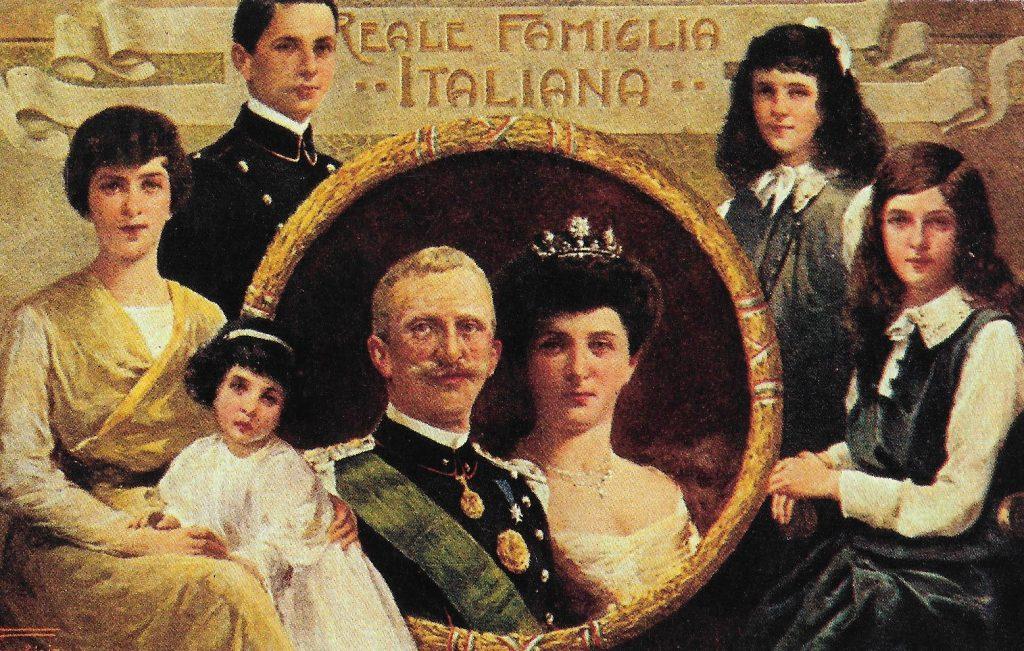 monarquia - Reale Famiglia Italiana