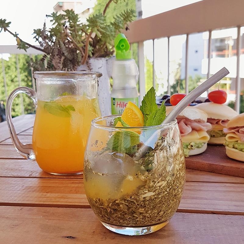 Terere - Con jugo de naranja