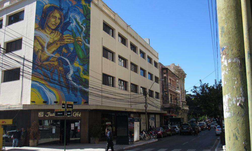 Mural En Estrella Y Palma