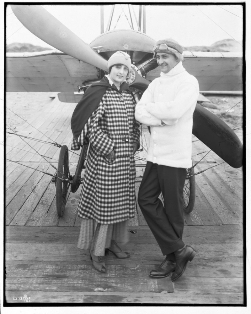 Silvio Pettirossi - y su esposa Sara Usher De Pettirossi