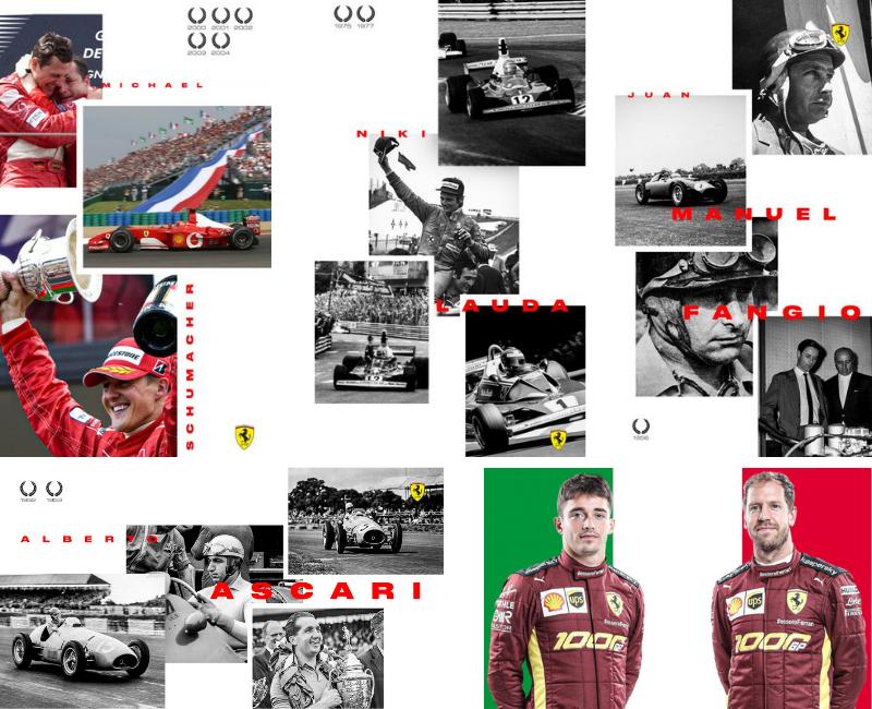 Ferrari - Composicion