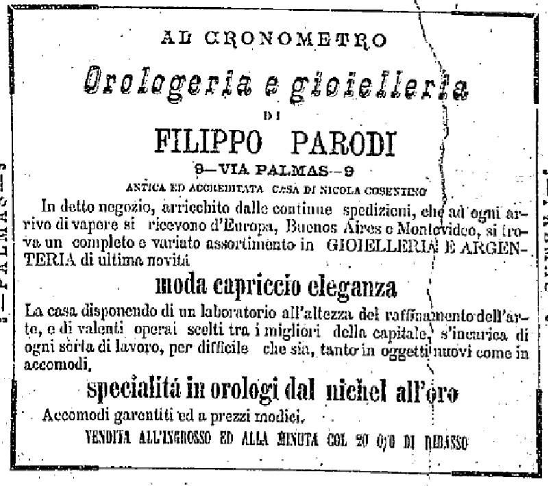 colonia italiana - Filippo Parodi