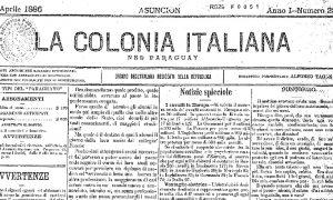 colonia italiana - Portada Del Periodico