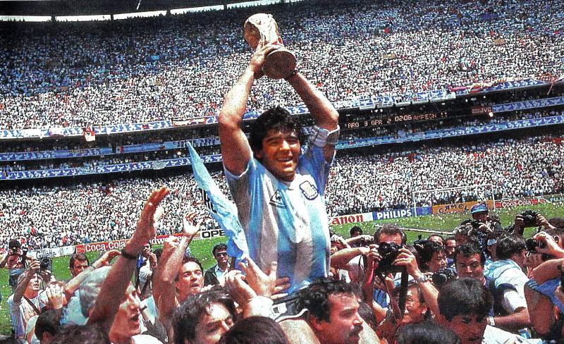 Maradona - Cup Azteca Ok