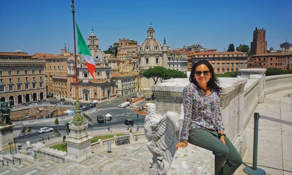 comunicación - Monica Ayala En Roma