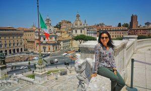 comunicacion - Monica Ayala En Roma