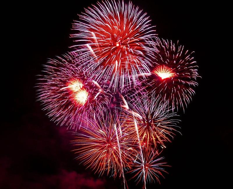 Fuegos Artificiales De Ano Nuevo