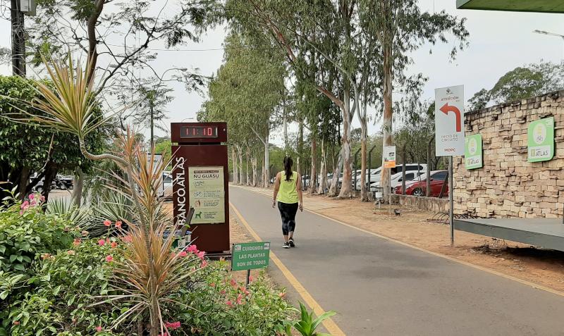 Guasu-Caminata En El Parque