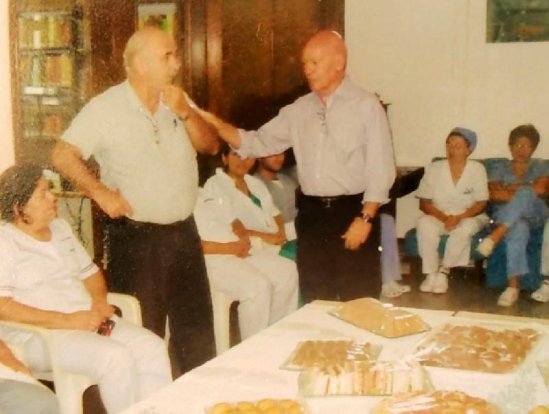 famiglia ruggero - Jose Ruggero Con Tardivo En La Mutuo