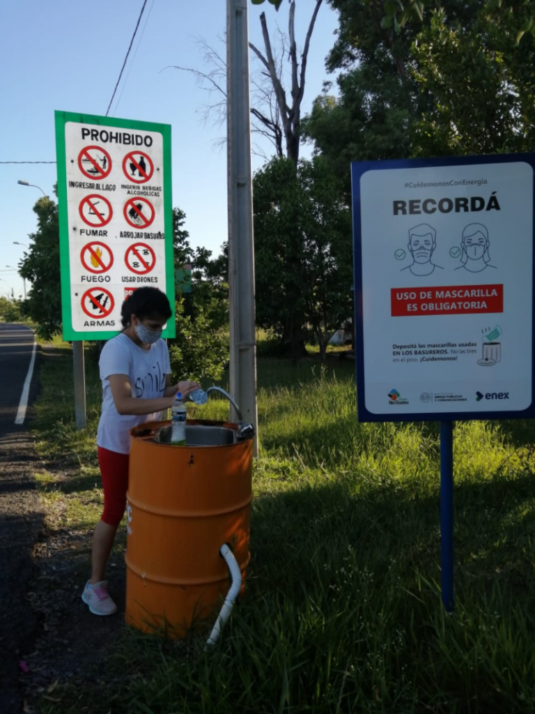 Parque-Normas Sanitarias