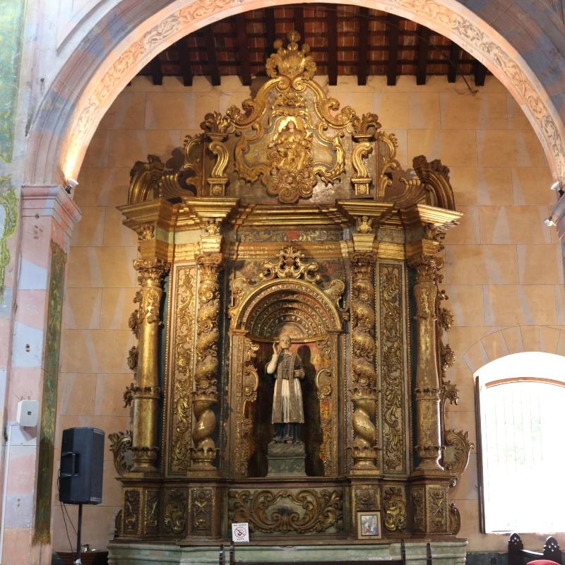 Iglesia Santísima Trinidad - Altar de Yaguarón