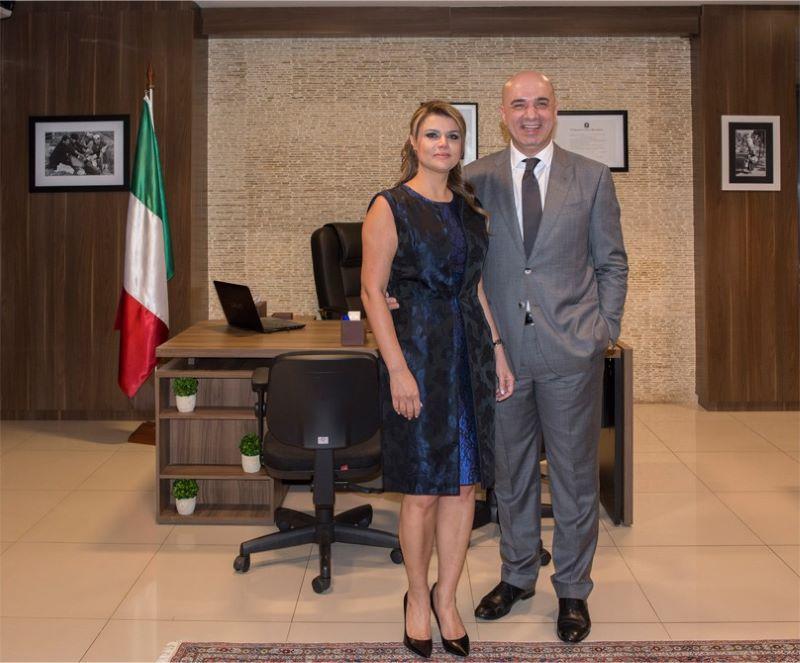 consul - Armando Nasser, Consul Honorario en Italia