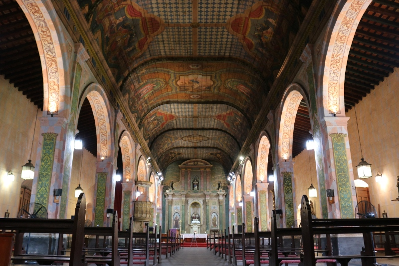 Iglesia Santísima Trinidad - Interior