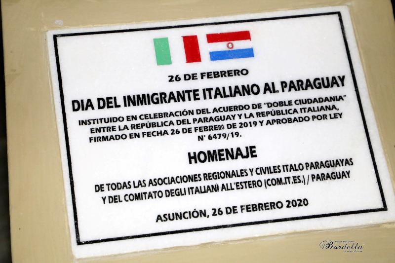 Inmigrante - Placa Bardella