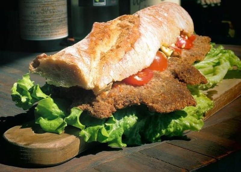 Milanesa - Sandwich De Milanesa