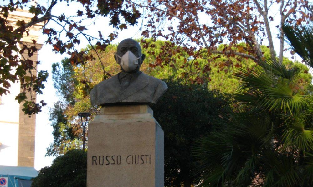 Antonino Russo Giusti- Busto Bronzeo