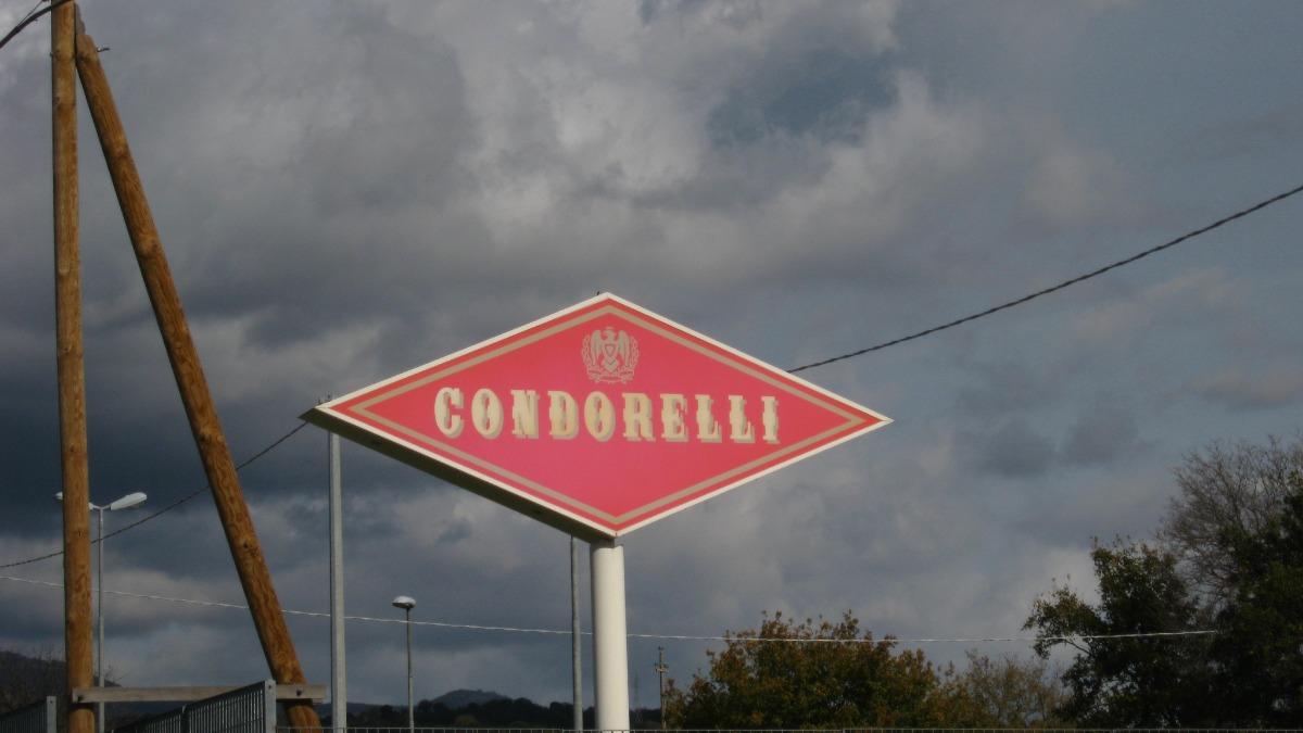 Condorelli-Insegna dello stabilimento Condorelli
