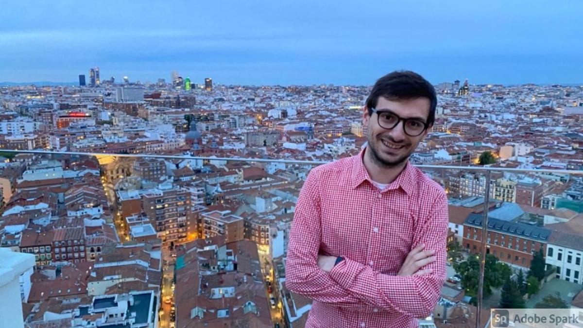 Madrid-Paolo Laudani