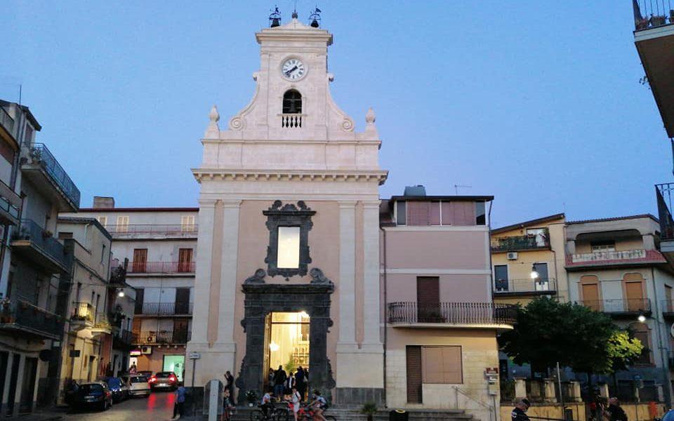 restauro ultimato sia all'interno che all'esterno per permettere ai fedeli della Chiesa Santa Maria di Santa Maria dell'Idria di fruire dei locali nuovamente.