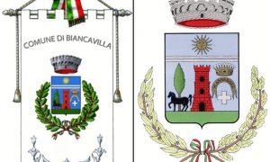Comune di Biancavilla: Gonfalone E Stemma civici