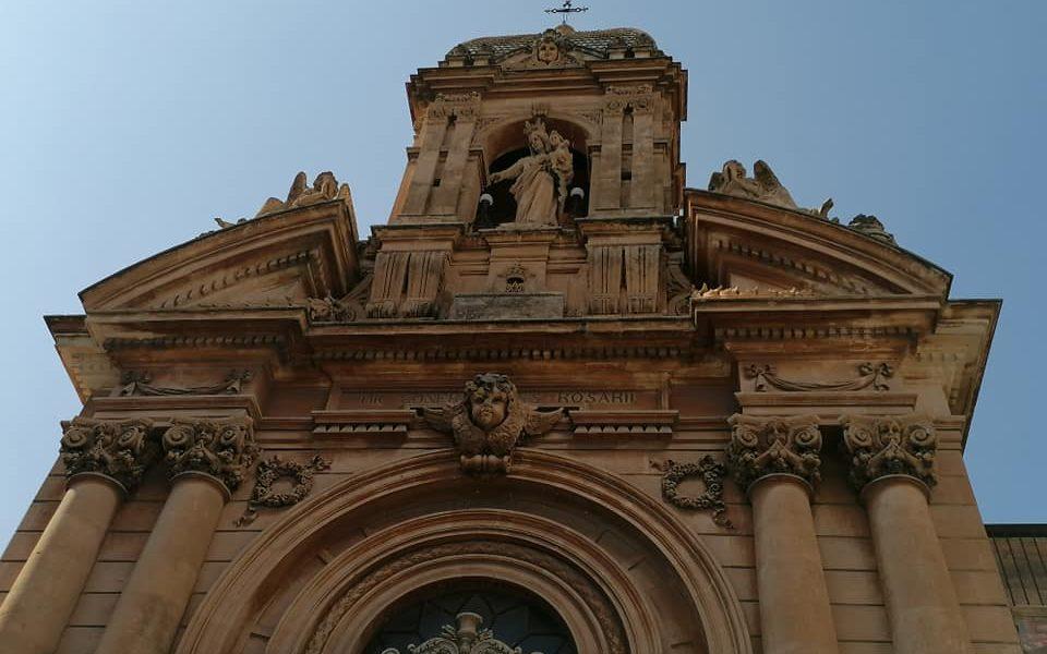 Facciata Chiesa Del Rosario