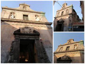 Facciata Chiesa Marce