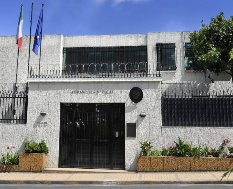 Embajada De Italia En Bogota