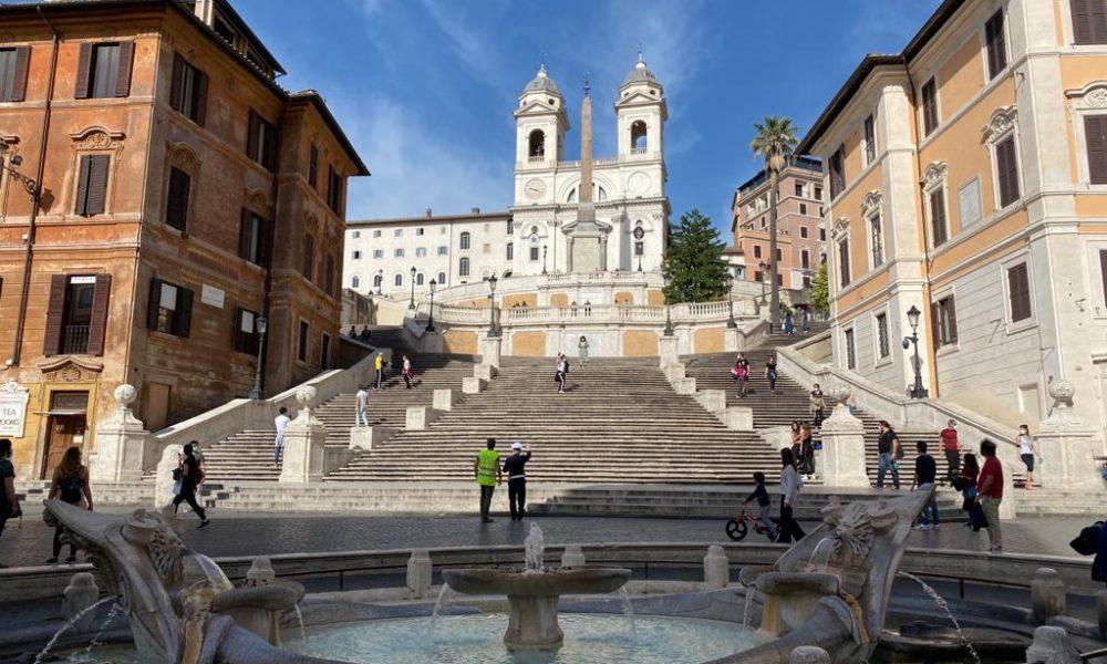 Roma - Plaza Espana