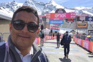 Giro De Italia - periodista