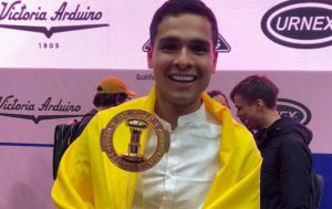 Diego Campos - Campeón Mundial de Barismo