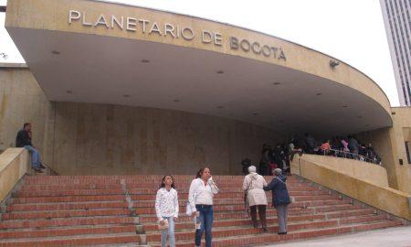 Planetario de Bogotá - Entrada