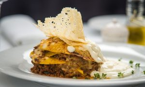 Restaurantes italianos - Lasaña