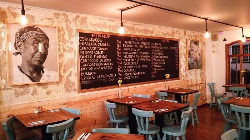 Restaurantes italianos - Restaurante La Monferrina