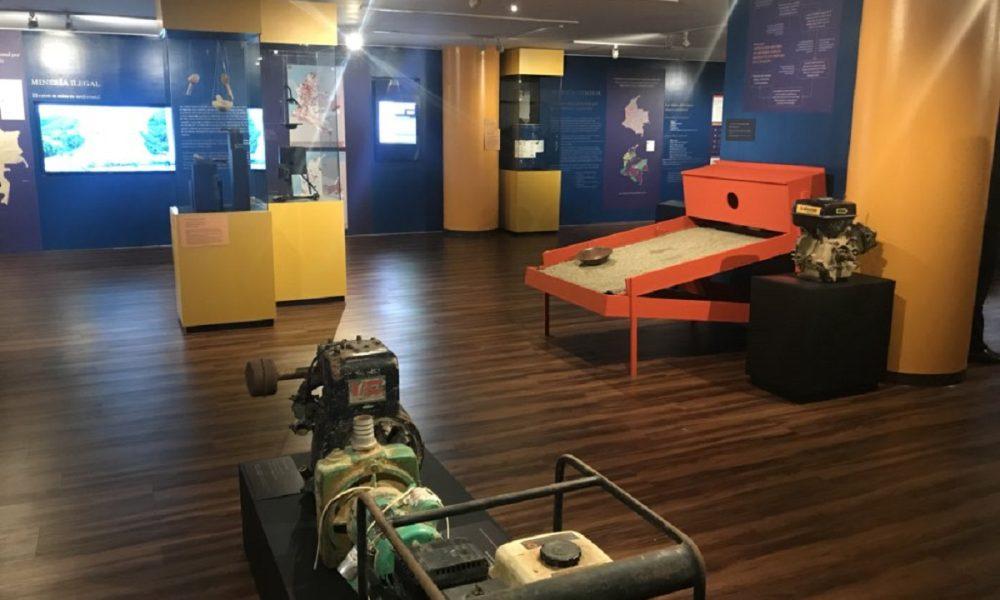 Museo de la Fiscalía - Sala Mineria Ilegal