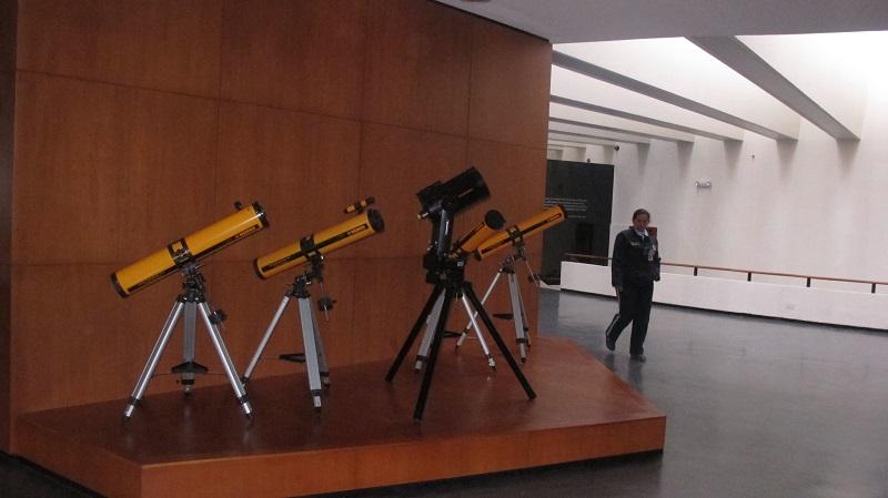 Planetario de Bogotá - Telescopios