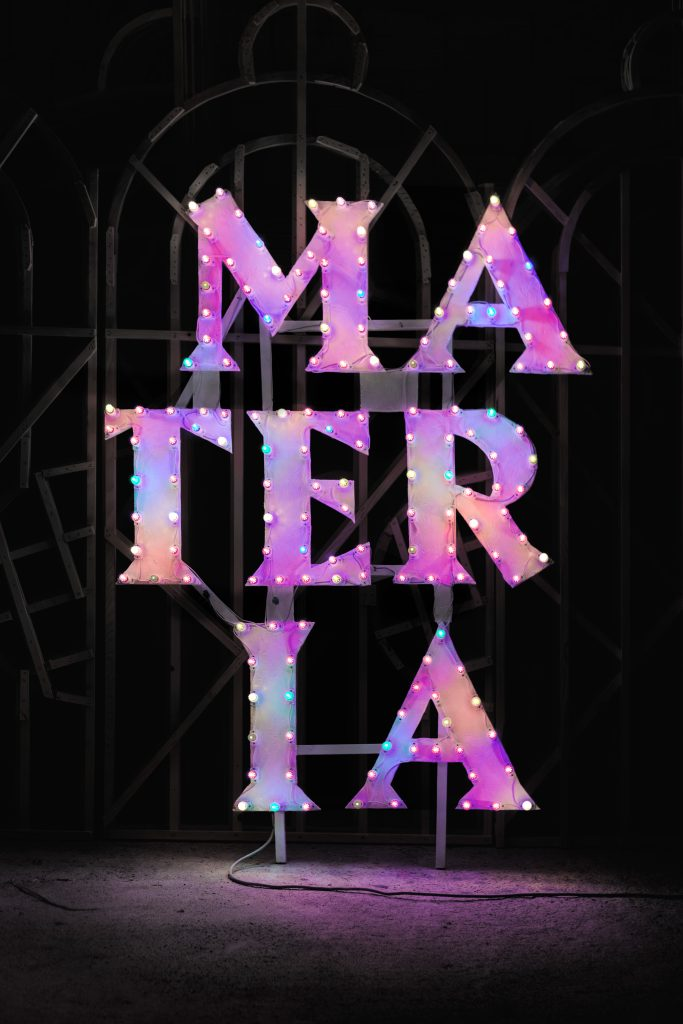 Luminaria Logo Materia Sospesa 2020 Photo A.muscatello
