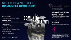 Locandina Evento Comunità Resilienti
