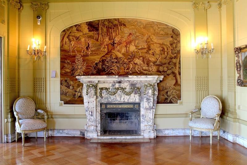Palacio Baburizza - Chimenea