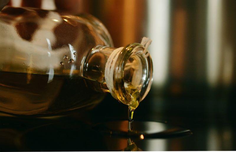 aceite - Botella